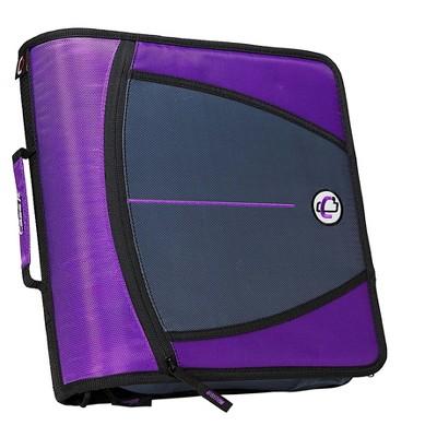 Case It Case-it Mighty Zip Tab 3 3-Ring Zipper Binder D-146