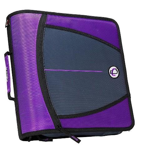 Case It Case-it Mighty Zip Tab 3 3-Ring Zipper Binder D-146 - image 1 of 1