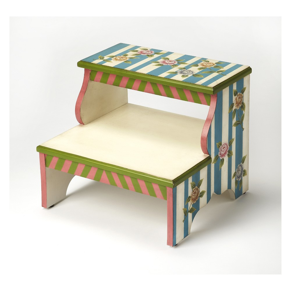 Image of Butler Specialty Melrose Alice In Wonderland Step Stool Wonderland