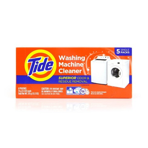 Tide High Efficiency Washing Machine Cleaner - 5ct - image 1 of 4