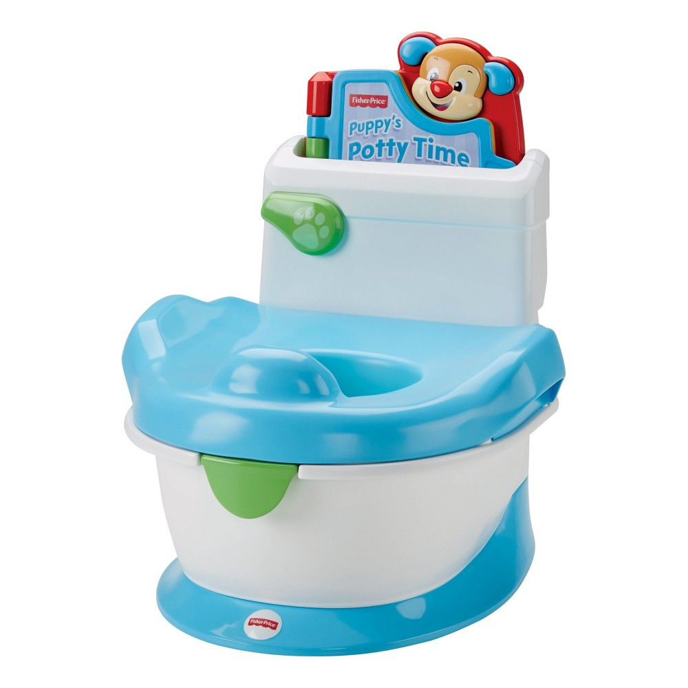 Fisher-Price Laugh and Learn with Puppy Potty, White
