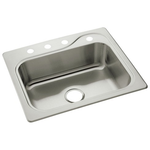 """Sterling 11403-4 Southhaven 25"""" Single Basin Drop In Stainless Steel Kitchen Sink - image 1 of 2"""