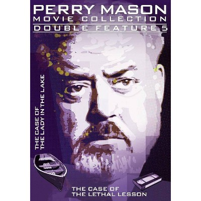 Perry Mason Double Feature: Case Of The Lady In The Lake / Lethal Lesson (DVD)(2014)
