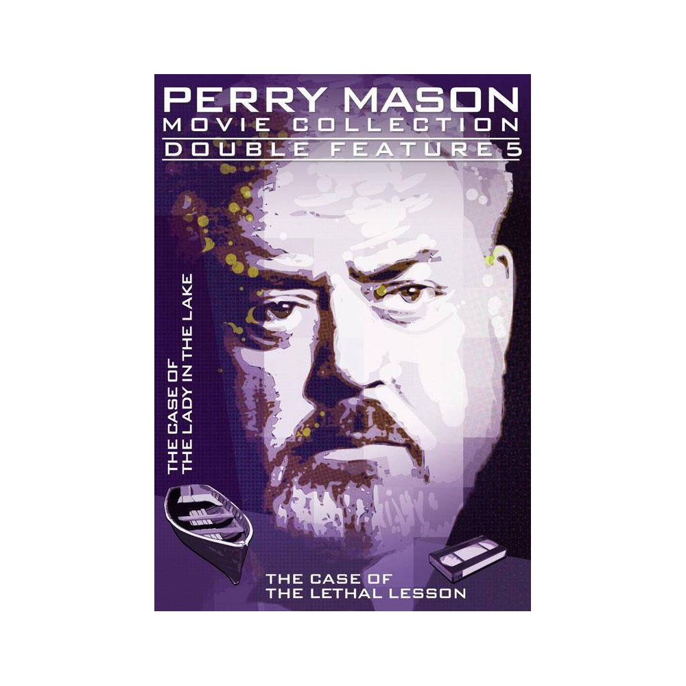 Perry Mason Double Feature: Case Of The Lady In The Lake / Lethal Lesson (DVD)