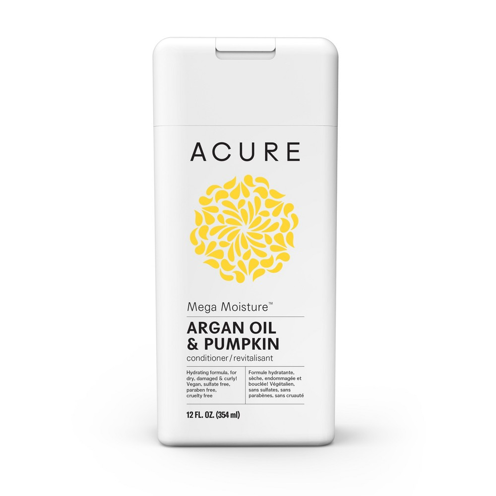 Image of Acure Argan Mega Moisture Oil & Pumpkin Conditioner - 12 fl oz