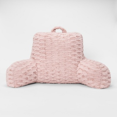 Pink Cut Plush Bed Rest - Room Essentials™