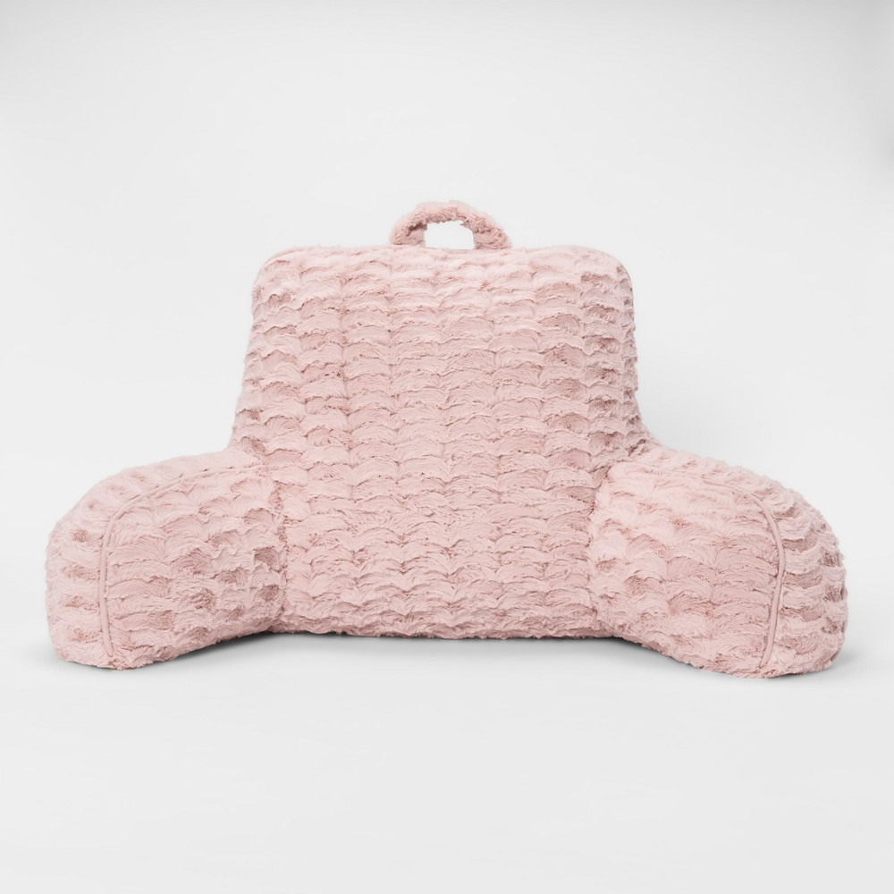 Pink Cut Plush Bed Rest - Room Essentials