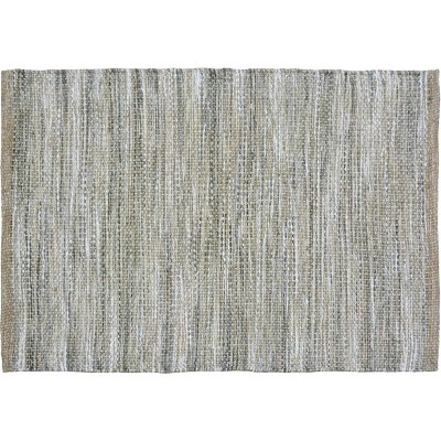 2'X3' Woven Accent Rug Gray Natural - Threshold™