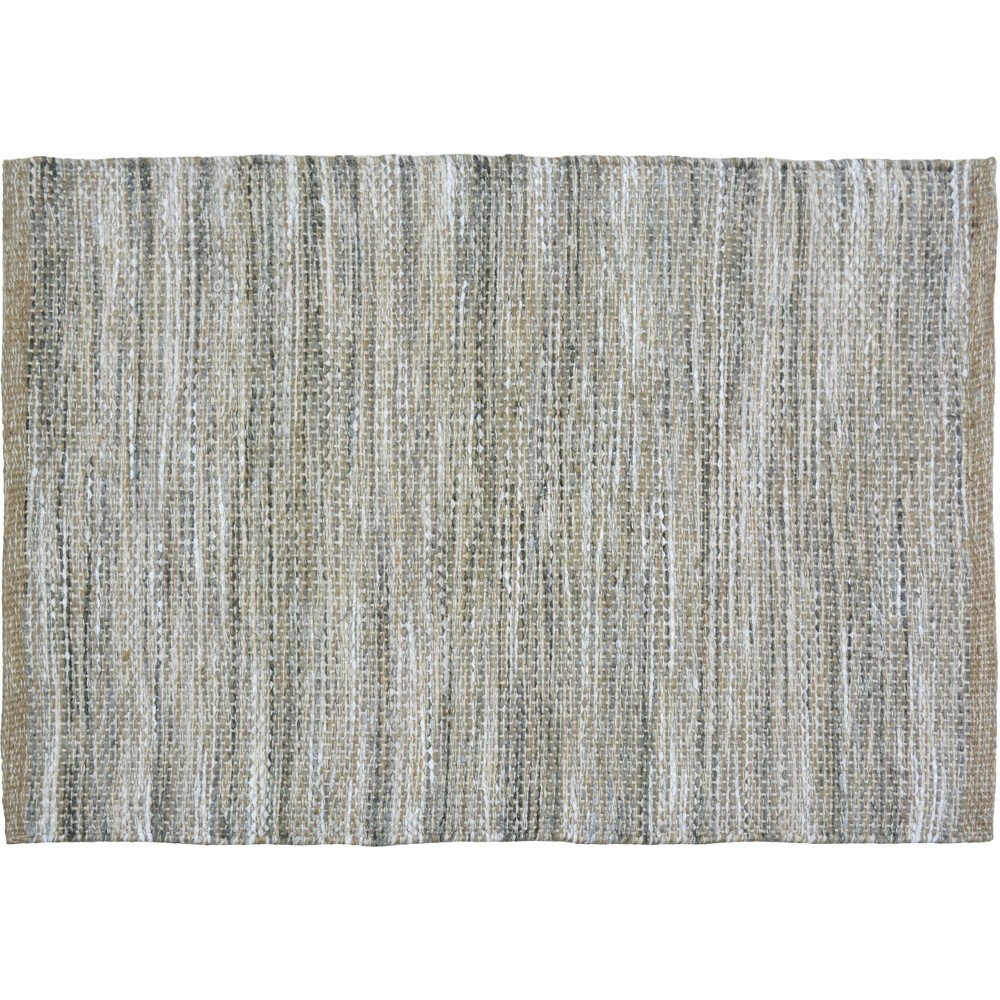 2'X3' Woven Accent Rug Gray Natural - Threshold