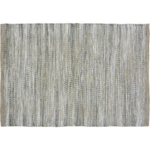 2'X3' Woven Accent Rug Gray - Threshold™ - image 1 of 3