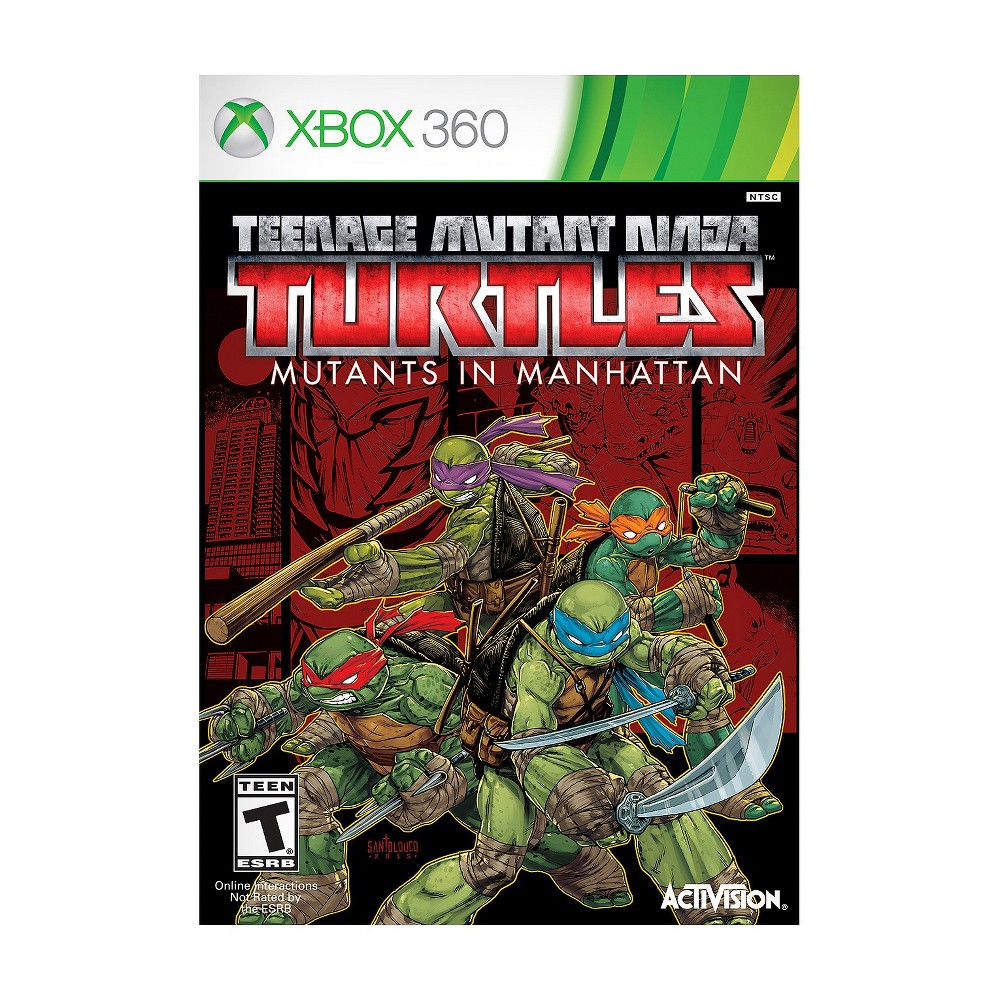 Tmnt Mutants in Manhattan Xbox 360 Save the day with your 4 favorite vigilantes with Tmnt Mutants in Manhattan (Xbox 360) - Activision. The game works for Xbox 360 consoles. The action video game is recommended for ages 13 and up.