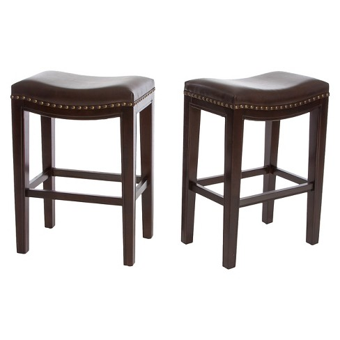 Avondale Backless 26 Counter Stool Set 2ct Christopher Knight