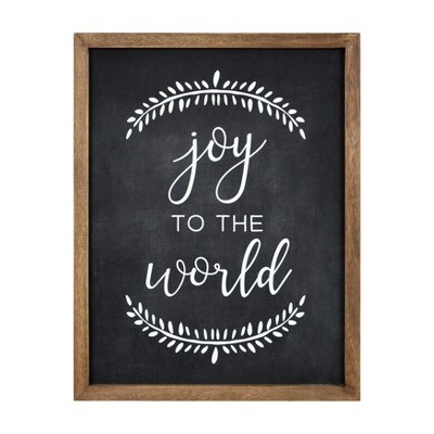 Joy to the World Chalkboard Sign - Threshold™