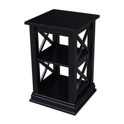 Hampton Accent Table with Shelves - International Concepts