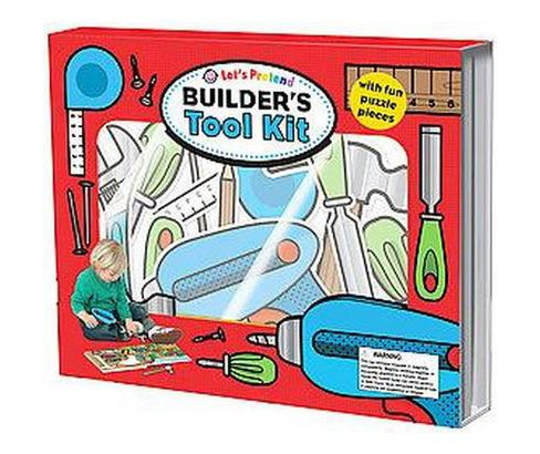 Let's Pretend Builders Tool Kit (Hardcover) (Roger Priddy) - image 1 of 1