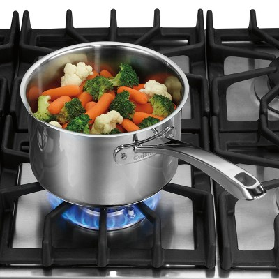 Cuisinart Classic Stainless 2.5qt Cook & Pour Saucepan With Draining Cover