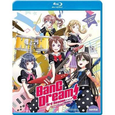 Bang Dream! The Complete Third Season (Blu-ray)(2021)