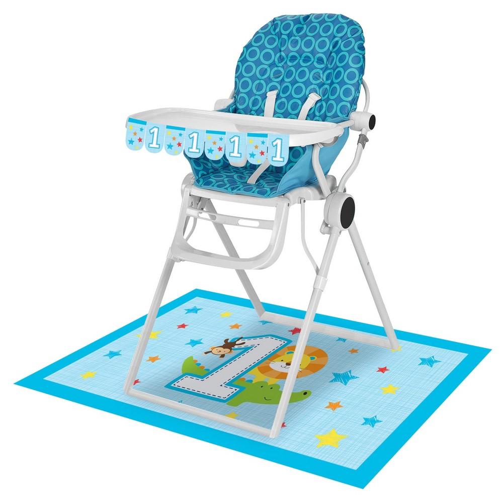 One is Fun Boy High Chair Kit