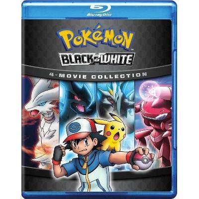Pokemon Black & White 4: Movie Collection (Blu-ray)(2019)