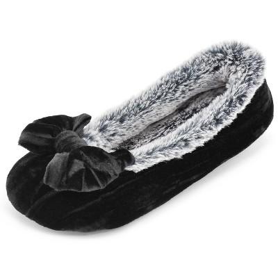 RockDove Women's Crinkle Velvet Ballet Slipper