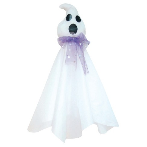"35.4"" Halloween Ghost With Purple Tie - image 1 of 1"