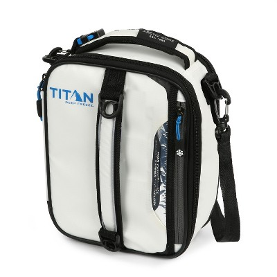 Arctic Zone Titan Deep Freeze Expandable Lunch Box - White