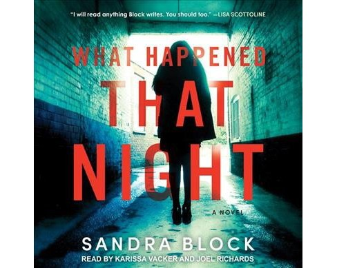 What Happened That Night -  by Sandra Block (MP3-CD) - image 1 of 1