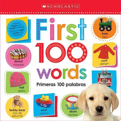 Lift the Flap First 100 Words / Primeras Scholastic Early Learners)(Bilingual)(Board)by Scholastic Inc