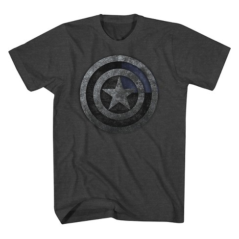 Men's Marvel Short Sleeve Graphic T-Shirt Charcoal Heather - image 1 of 1