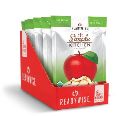 ReadyWise Simple Kitchen Organic Freeze Dried Apple - 4.2oz/6ct