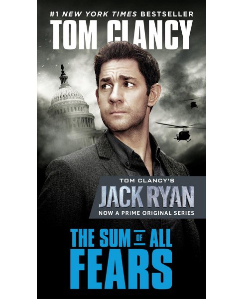 Sum of All Fears -  by Tom Clancy (Paperback) - image 1 of 1