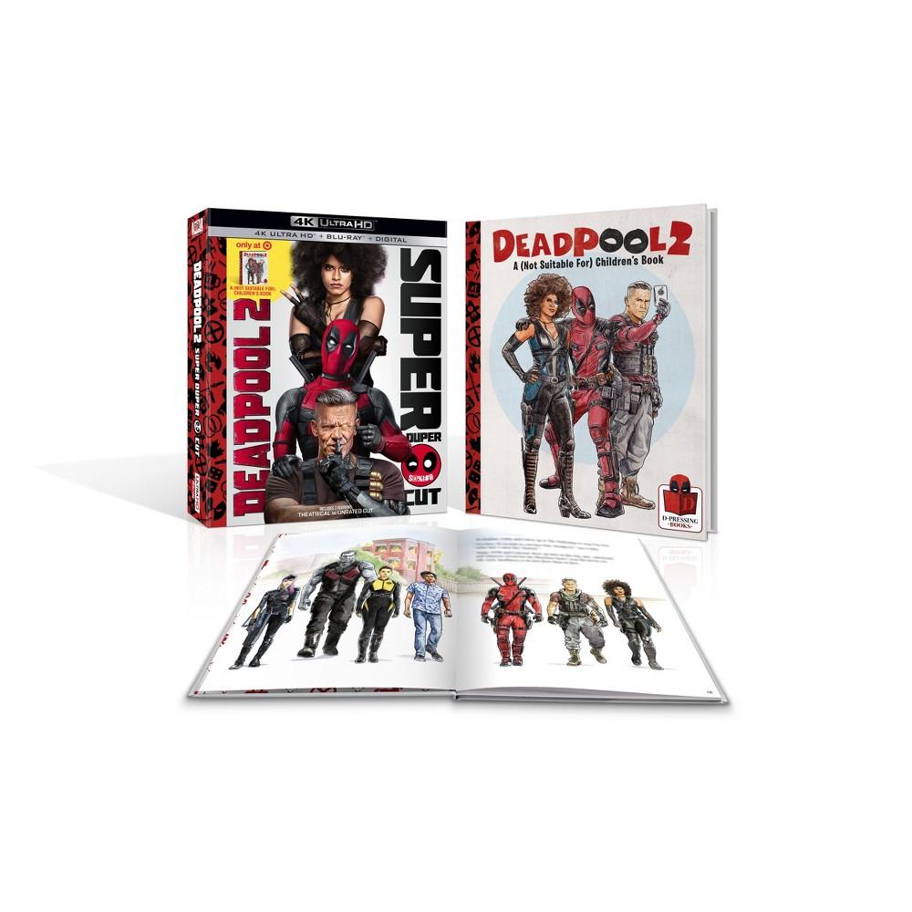 Deadpool 2 (Target Exclusive) (4K/Uhd)