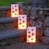 12ct Stars Plastic Luminaria Bags Gold - image 2 of 3