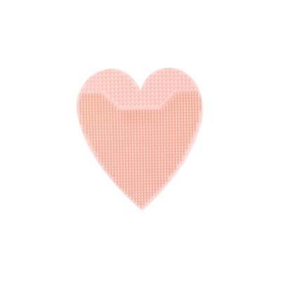 Skin Camp Silicone Heart Brush