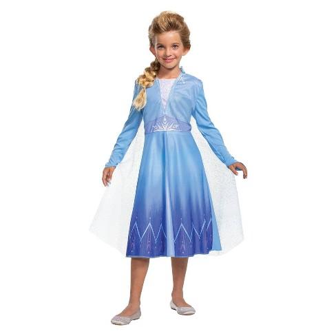 Kids' Frozen Elsa Halloween Costume - image 1 of 2
