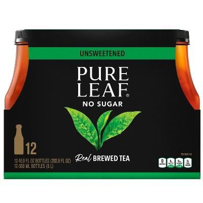 Pure Leaf Unsweetened - 12pk/16.9 fl oz Bottles