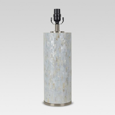 Capiz Subway Tile Large Lamp Base Shell - Threshold™