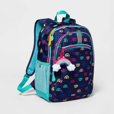"17"" Kids' Backpack Navy Rainbow - Cat & Jack™"