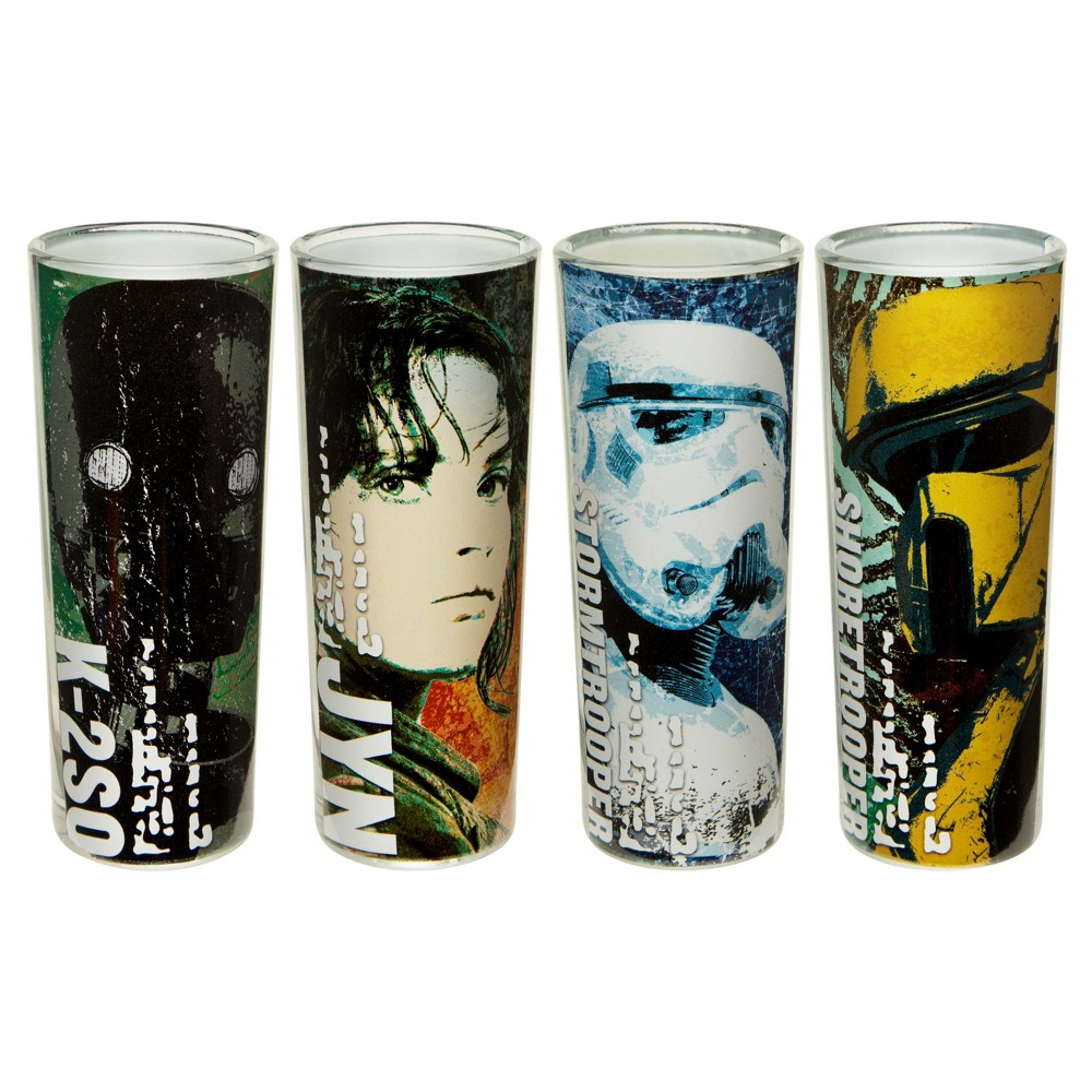 Zak Designs Rogue One A Star Wars Story Drinkware Set, Multi-Colored