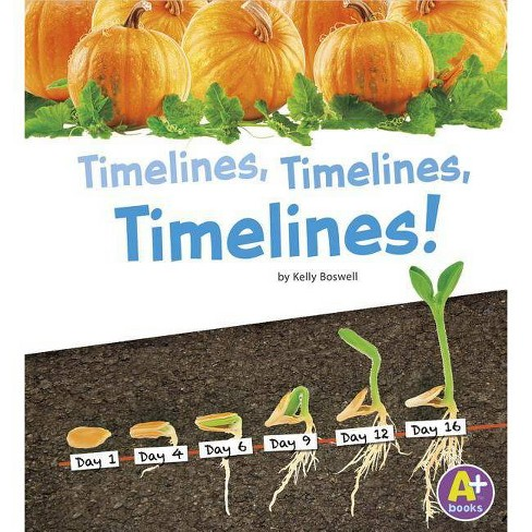 Timelines, Timelines, Timelines! - (A+ Books: Displaying Information) by  Kelly Boswell (Paperback) - image 1 of 1