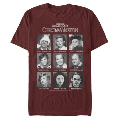 Men's National Lampoon's Christmas Vacation Griswold Yearbook T-Shirt