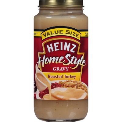 Heinz Home Style Roasted Turkey Gravy - 18oz