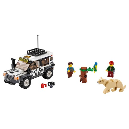 LEGO City Safari Off-Roader Building Set 60267 image number null