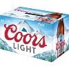 Coors Light Beer - 24pk/12 fl oz Bottles - image 4 of 4