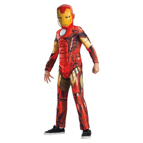 82269bc1f6e3 Marvel Avengers Boys' Iron Man Costume : Target