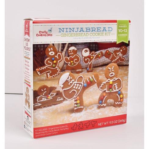 Brand Castle Ninja Gingerbread Boys Kit - 9.5oz - image 1 of 2