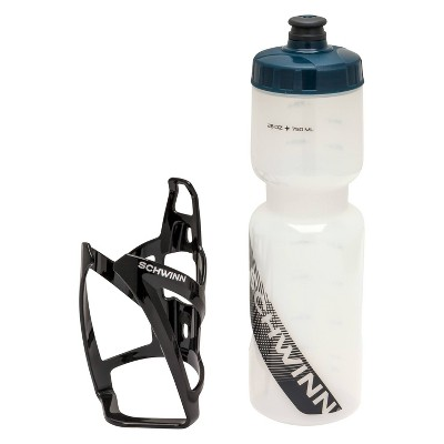 Schwinn Bike Water Bottle with Cage