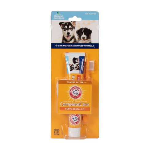 Arm & Hammer Complete Care Puppy Dental Kit - 2.5oz - image 1 of 4