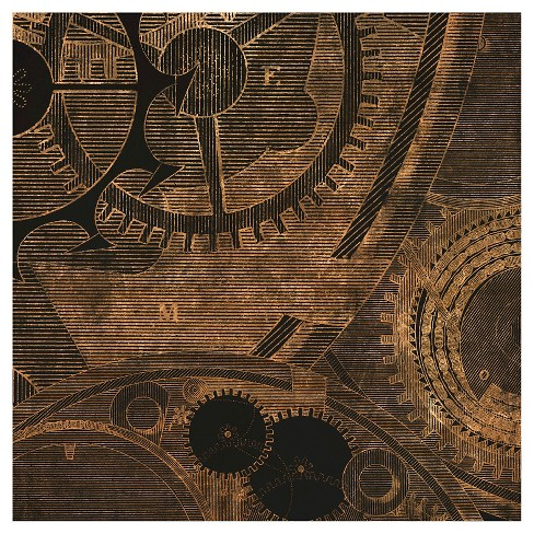 Inner Workings 3 Unframed Wall Canvas Art - (24X24) - image 1 of 1