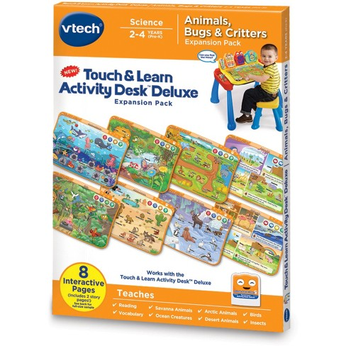 VTech® Touch & Learn Activity Desk™ Deluxe - Animals, Bugs & Critters - image 1 of 7